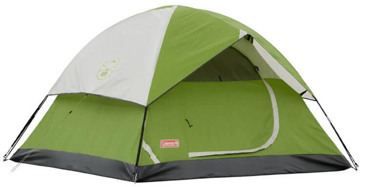 Coleman Sundome pop-up tent