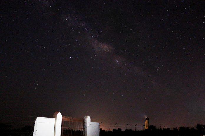 Coast Headlamp: Camping under the skies at night
