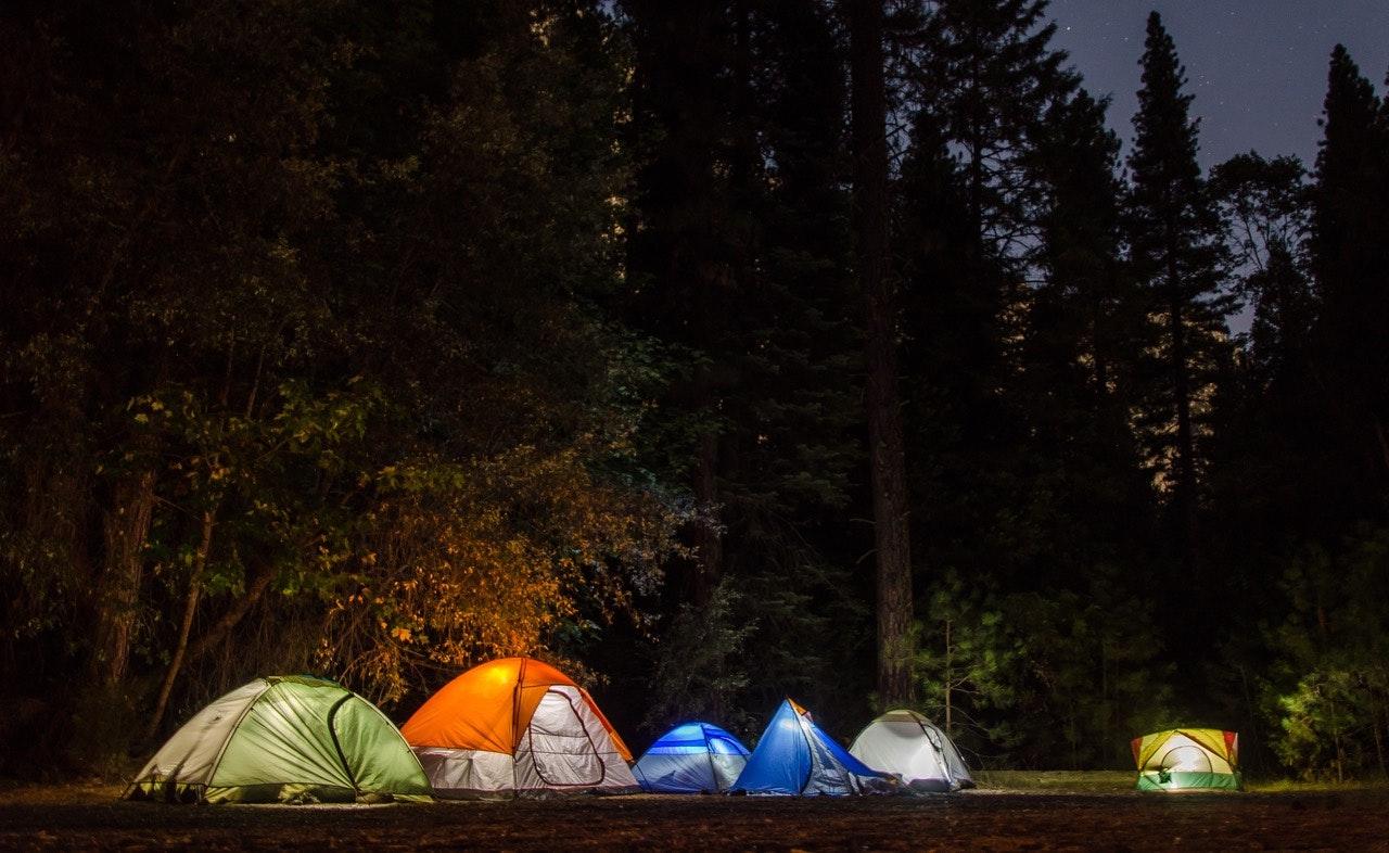 Tents Woods