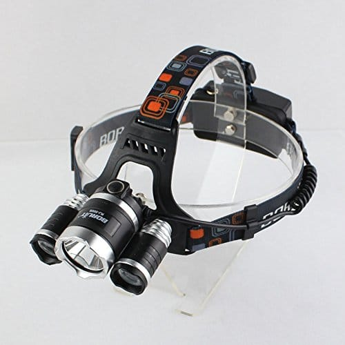 BORUiT RJ-5000 Super Bright Headlamp