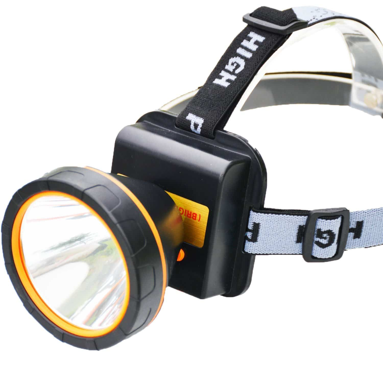 olidear LED Headlamp Torch Outdoor Rechargeable Headlight