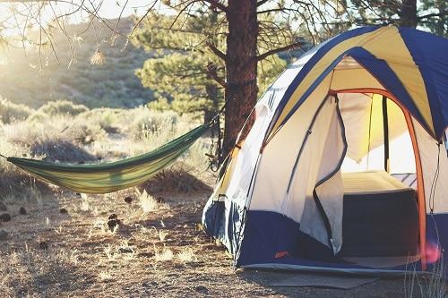 relaxing tent